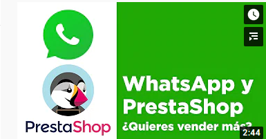 add whatsapp to prestashop