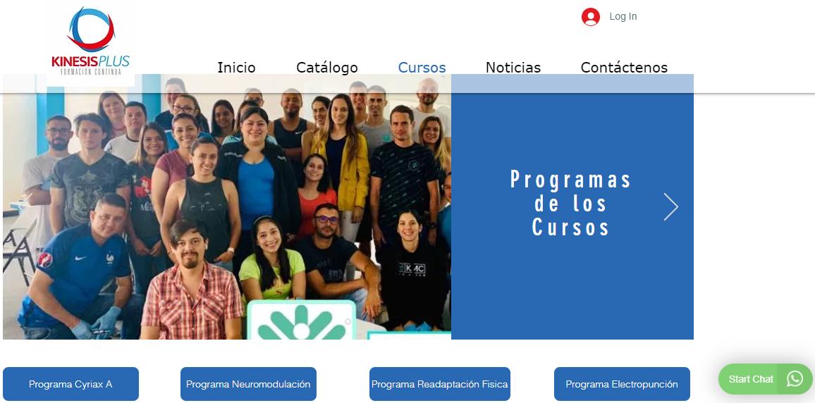 kinesisplus programas