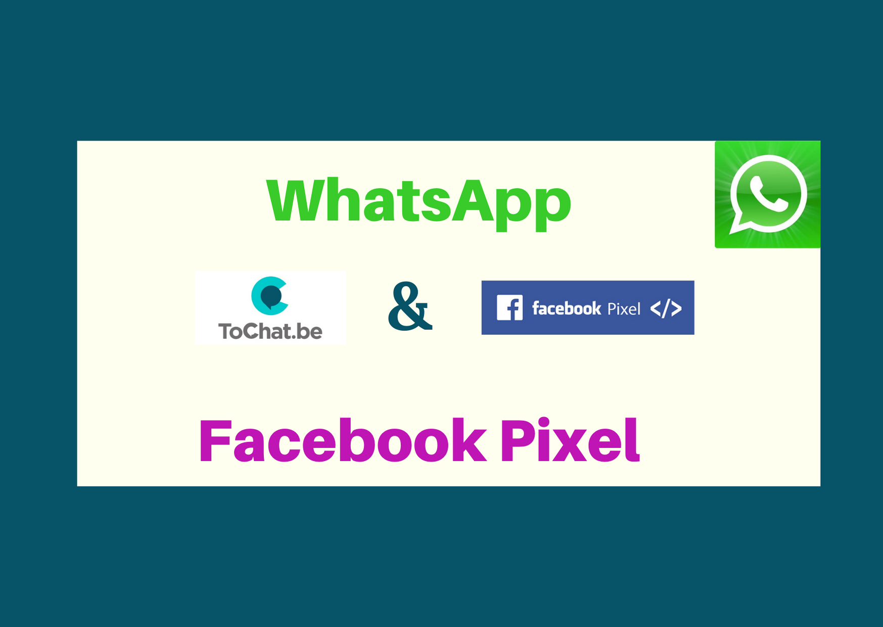 facebook pixel whatsapp widget