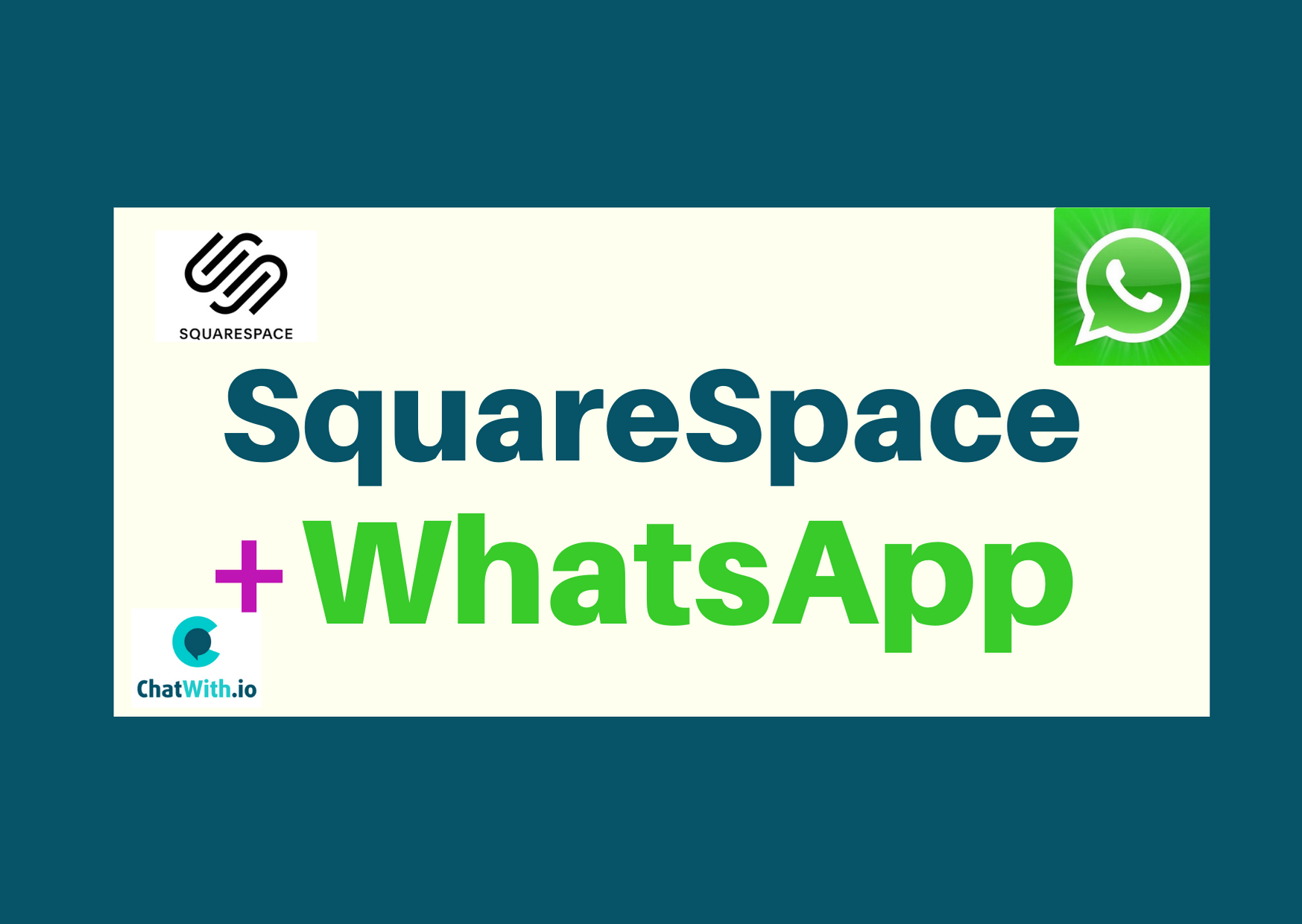squarespace whatsapp widget