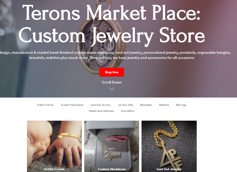 terons market place ecommerce